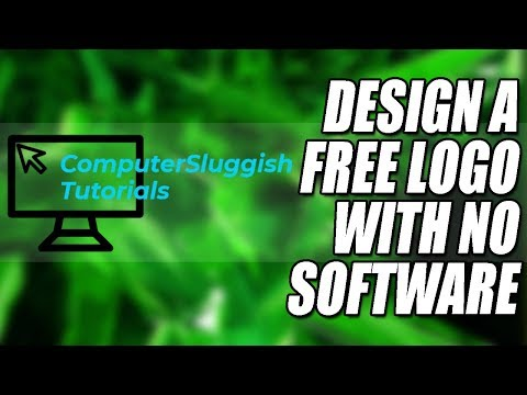 How to Create Your Own Logo For FREE | Easy Tutorial 2018
