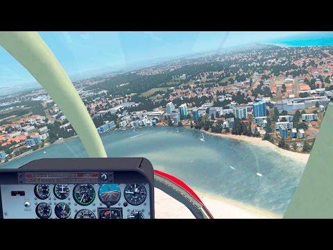 FSX - Short Helicopter Flight over Caloundra, Queensland (Australia) | DodoSim 206 X