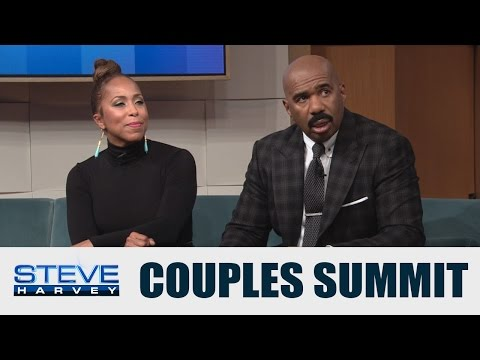 Couples Summit: He cheated – should I stay? || STEVE HARVEY