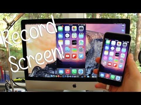 How to Record Your iPhone, iPod Touch, or iPad Screen FREE!