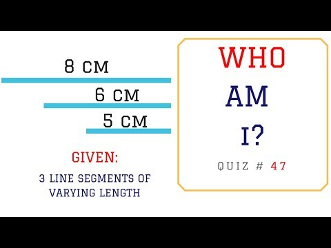 Math Puzzles with Answers in 60 seconds - Identify the Type of Triangle?