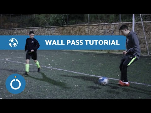 How to do a WALL PASS in Football Tutorial