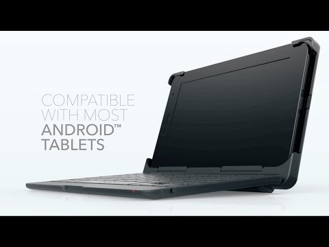 Auto-Fit Bluetooth Keyboard & Case - ZAGG
