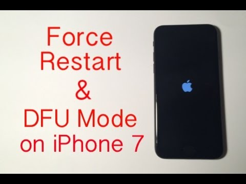 iPhone 7: How to Force Restart/Hard Reset & Enter DFU Mode