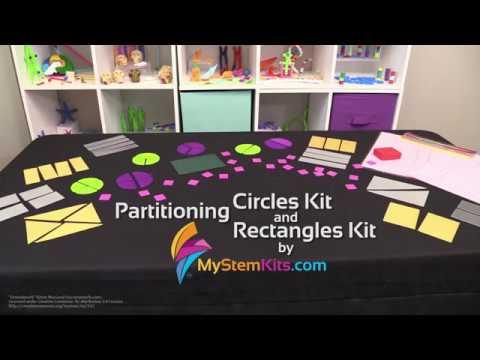 Partitioning Circles Kit & Partitioning Rectangles Kit