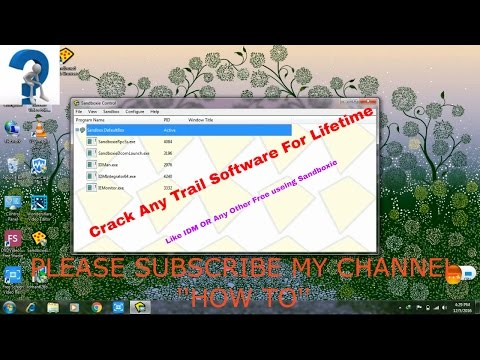 How To Use Trial Software Again, (Use Any Software For Lifetime), Sandboxie Trick || howtobyak