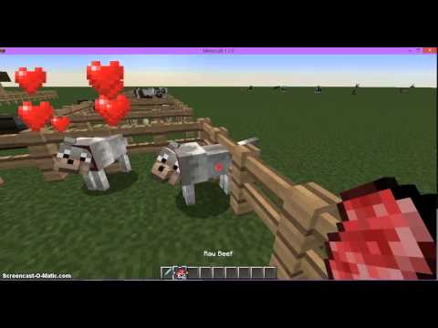 How to breed all animals in minecraft 1.7.9