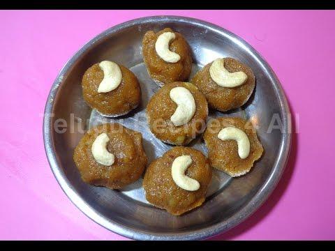 How to Make KOBBARI LADDU Sweet Recipe in Telugu