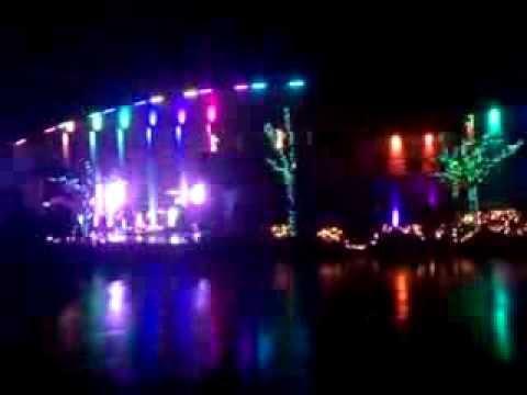 Christmas Light Show At Destiny Christian Church