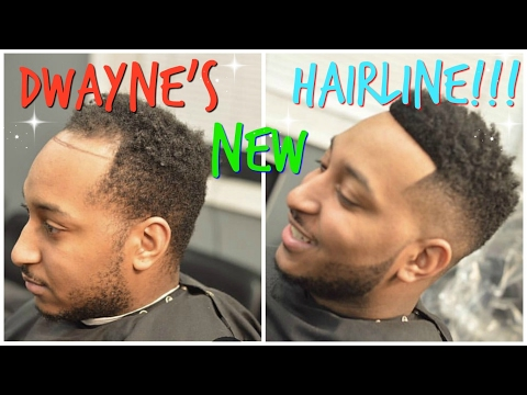 DWAYNE'S NEW HAIRLINE!!!! DWAYNE GETS MAN WEAVE!!!
