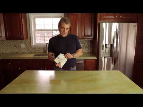 How to Seal Concrete Countertops with Z Aqua-Poxy