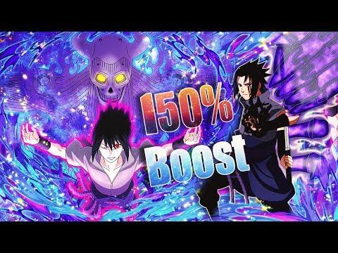 ** SUSANOO SASUKE (NUKER) 150% ATTACK BOOST** | ** Naruto Shippuden Ultimate Ninja Blazing *
