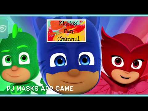 PJ Masks game app - iPhone app / wear masks / shoot Romeo Luna girl in your house