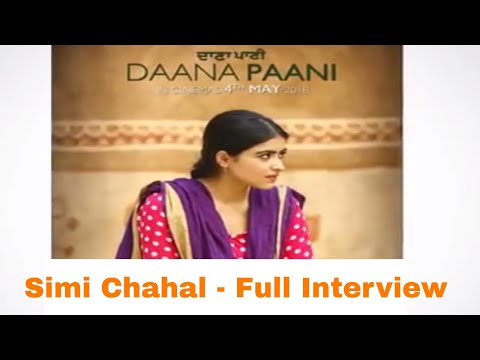 Simi Chahal II Punjabi Movie Daana Paani II Releasing 4th May 2018 - Radio Haanji Interviews