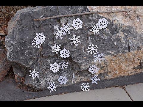 Snowflake Mobile/Backdrop