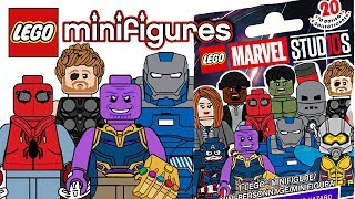 Download LEGO Marvel Studios Minifigures - CMF Draft! Video