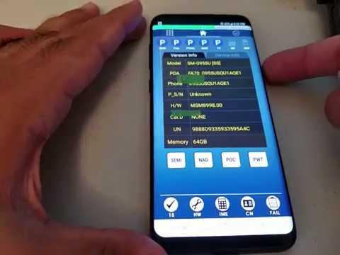 Samsung Galaxy S8 / S8 Plus EFS wipe - IMEI REPAIR for SM-G950 & SM-G955 models
