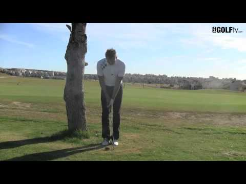 Golf Tips tv: How to hit it left handed with a right handed club