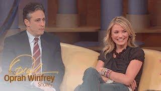 "Why Cameron Diaz Felt ""Intimidated"" by Jon Stewart   The Oprah Winfrey Show   Oprah Winfrey Network"