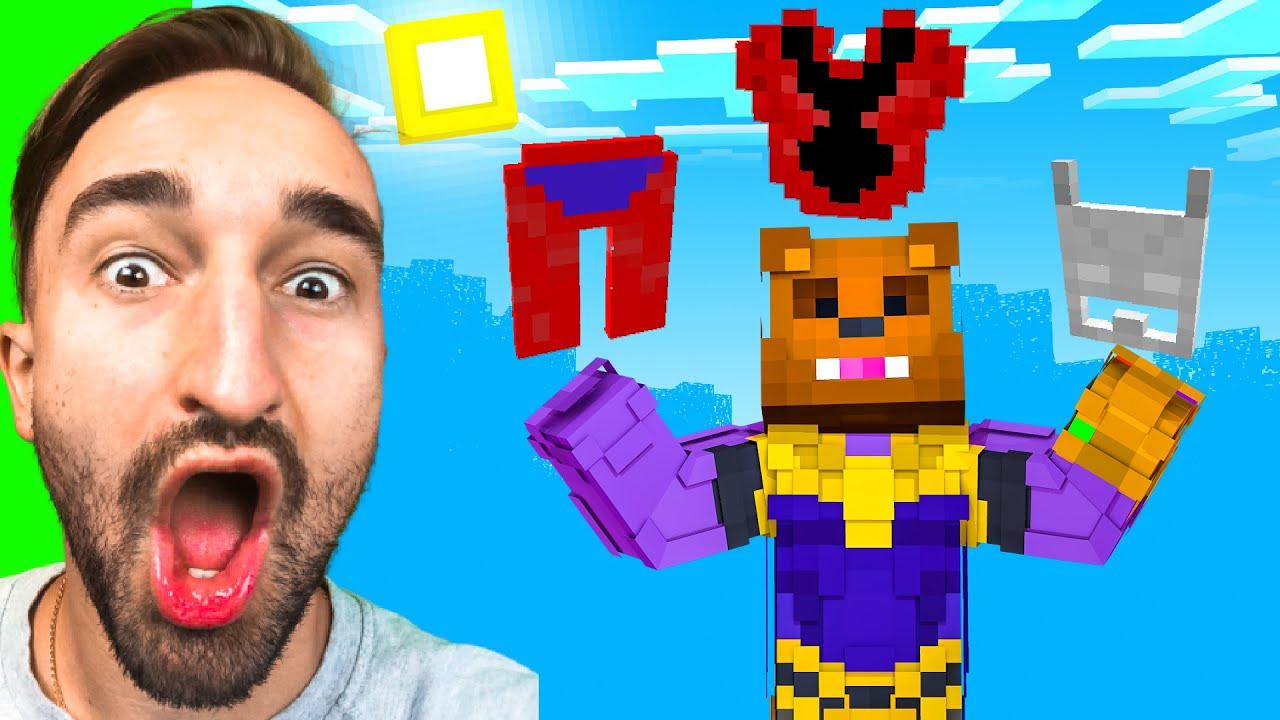 Becoming ANTMAN To STOP THANOS in Insane Craft w/ SSundee