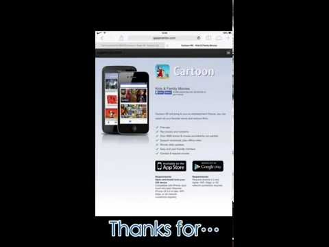 How To Download Free Films/Cartoons On IPhone/IPod/IPad (No