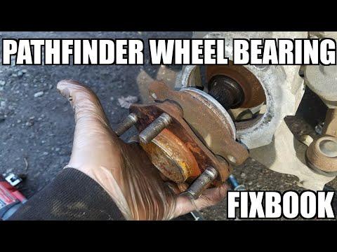 Front Wheel Bearing Hub 05-18 Nissan Pathfinder Replacement
