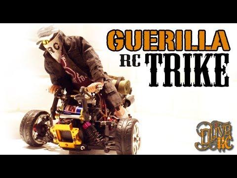 GUERILLA RC TRIKE 2000 - HOMEMADE -  Build & Drive