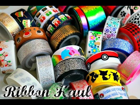 It's time for a NEW RIBBON HAUL! / Tutu The Moon