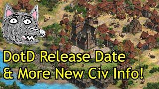 AoE2: DE Dawn of the Dukes Update   Release Date & New civ Info!