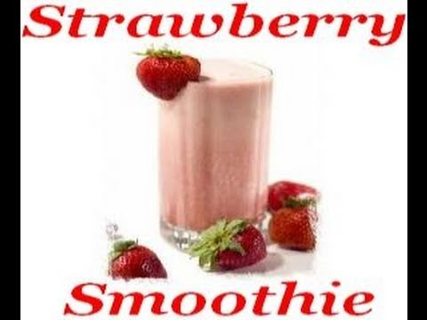 Atkins Diet Recipes: Low Carb Breakfast Strawberry Smoothie