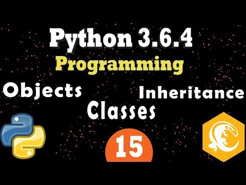 Python Classes and Objects Data | Inheritance | Python OOP Programming Tutorial (Part 2)