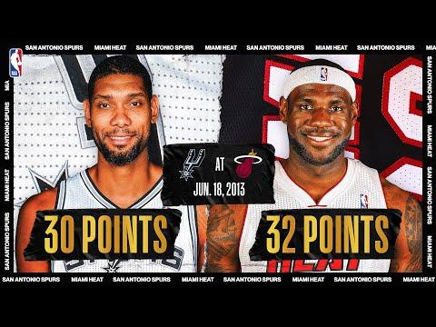 2013 NBA Finals Game 6: San Antonio Spurs @ Miami Heat (SAS leads 3-2)