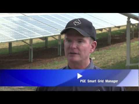 Portland General Electric Unveils Solar Project-Social Media clip