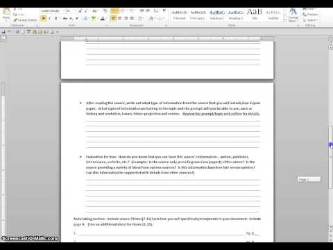 Annotated Bibliography # 2   Website