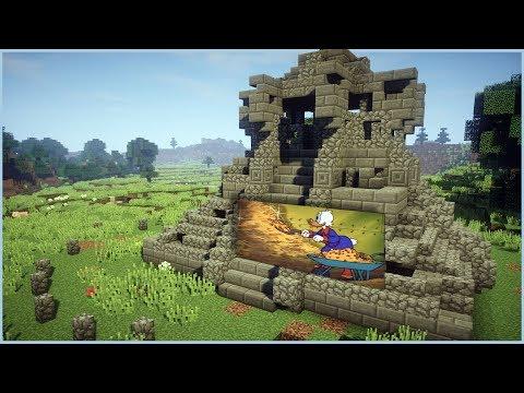 Minecraft - Sinking Floor Invention! (No Commands)