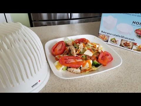 HOSH 60 second Salad Cutter Bowl Maker
