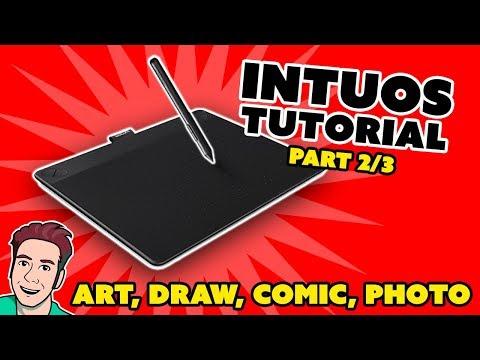 Wacom Intuos TUTORIAL - Customize Your Tablet (Part 2/3)