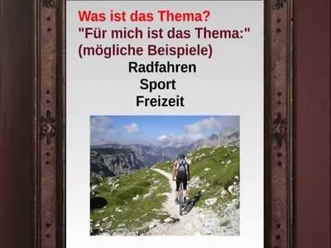 deutsch global bildbeschreibung - Bildbeschreibung Englisch Beispiel