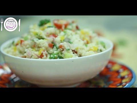 Fresh & delicious couscous tabbouleh salad