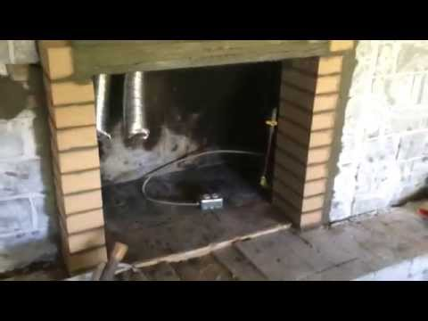 Brick and Mortar Fireplace Insert Hearth Designs Masonry Makeover