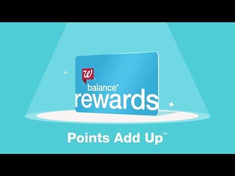Walgreens | With Balance Rewards, Points Add Up ™