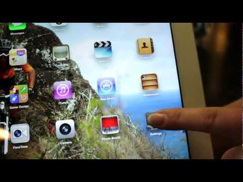How to Change iPad Screen Rotation Using the Audio Bar
