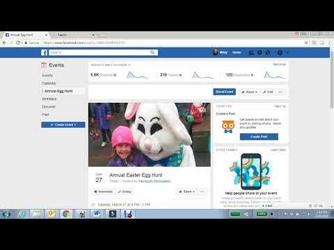 Create a Facebook Event Post