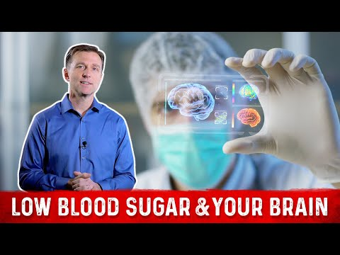 The Physiology of Low Blood Sugar (Hypoglycemia) on Your Brain: SIMPLIFIED