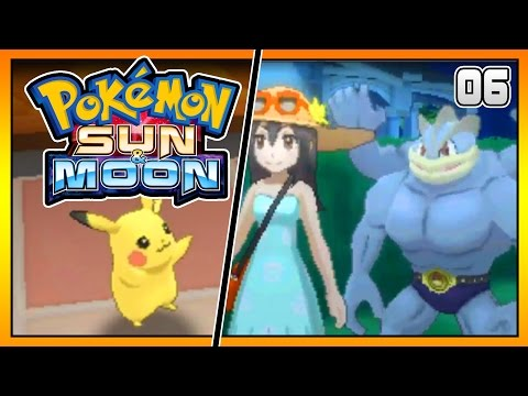 Pokemon Sun and Moon Special Demo Part 6 Pikachus Birthday! Gameplay Walkthrough