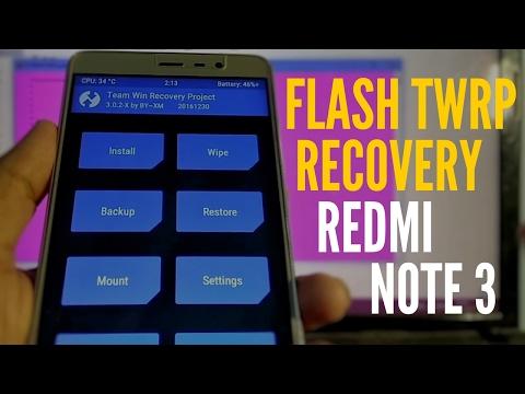 Flash TWRP in Redmi Note 3 [ Hindi ]