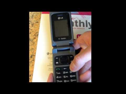 UNLOCK LG GS170 - How to Unlock T-Mobile LG GS170 Prepaid phone by Sim Unlocking Code