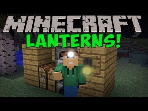 Minecraft Mods - Lanterns Mod (Minecraft 1.4.7)