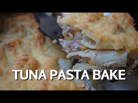 TUNA PASTA BAKE - Student Recipe