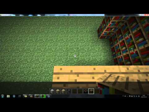 Minecraft In-Game Tutorial - How to make a high-level enchantment table